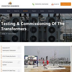 Testing of the Transformers