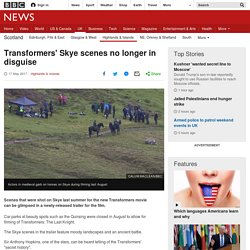 Transformers' Skye scenes no longer in disguise