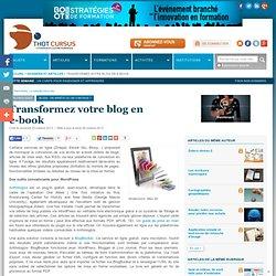 Transformez votre blog en e-book