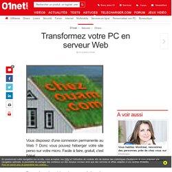 Transformez votre PC en serveur Web