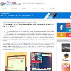 Transformez votre Raspberry Pi en une console de jeu rétro (DOS et SNES)