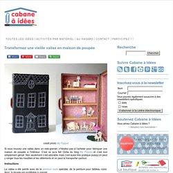 Transformez une vieille valise en maison de poupée
