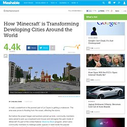How 'Minecraft' is Transforming Developing Cities Around the World