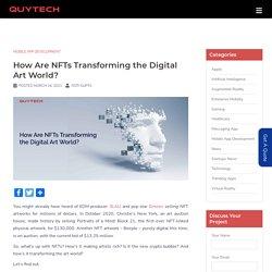 NFTs Transforming the Digital Art World