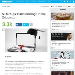 5 Startups Transforming Online Education