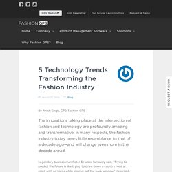 5 Tech Trends Transforming the Fashion Industry