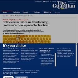 Online communities are transforming professional development for teachers | Teacher Network | Guardian Professional