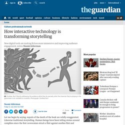 How interactive technology is transforming storytelling