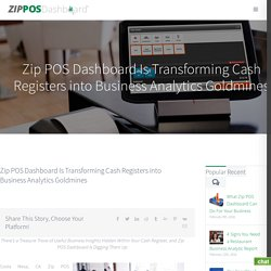 Transforming Cash Registers into Business Analytics