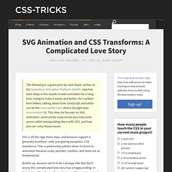 SVG Animation and CSS Transforms: A Complicated Love Story