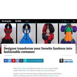 Designer transforms your favorite fandoms into fashionable costumes