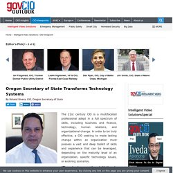 Oregon Secretary of State Transforms Technology Systems