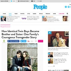 Twin Transgender Story: Jonas and Nicole Maines Told in Book Becoming Nicole
