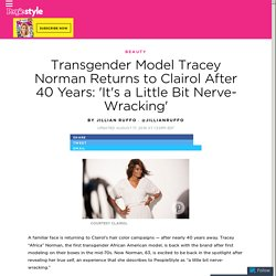 Transgender Model Tracey Norman Is Back With Clairol