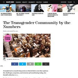 Facts and Statistics About Transgender People – Transitioning Numbers