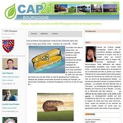 CAP 21 BOURGOGNE 21/11/10 Une protéine transgénique insecticide présente dans les cours d'eau aux Etats Unis - résidus du maïs B