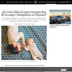¿Es tener hijos la gran transgresión de la mujer trabajadora en España?