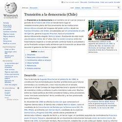 Transición a la democracia (Chile)
