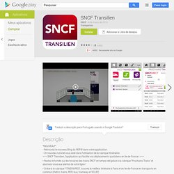 SNCF Transilien - AndroidMarket