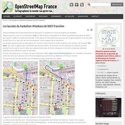 Les lauréats du hackathon #Hackcess de SNCF-Transilien