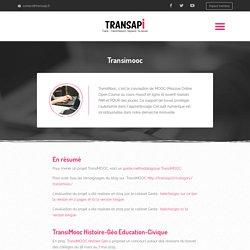 Transimooc - Transapi