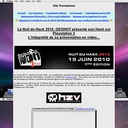 Nuit du Hack - GEOHOT
