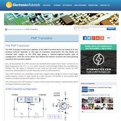 PNP Transistor Tutorial - The Bipolar PNP Transistor