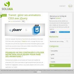 Transit : gérer ses animations CSS3 avec jQuery