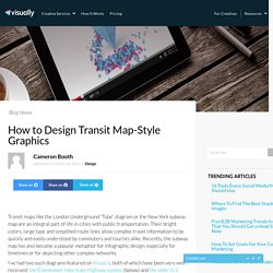 Design Transit Map-Style Graphics