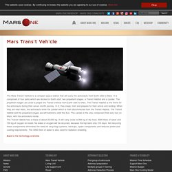 Mars Transit Vehicle - The Technology