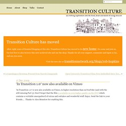In Transition 1.0 is Now Available!!