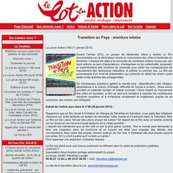 Transition au Pays : aventure lotoise
