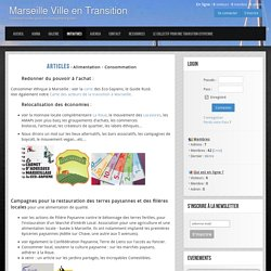 Marseille Ville en Transition - Solutions locales pour un changement global
