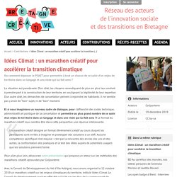 Idées Climat : un marathon créatif pour accélérer la transition climatique