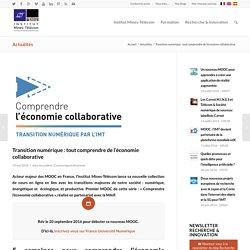 Transition numérique : tout comprendre de l'économie collaborative - Institut Mines-Télécom