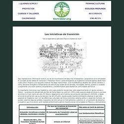 """""""Transition Towns"""" : Aldeas, comunidades, pueblos y ciudades en transición"""