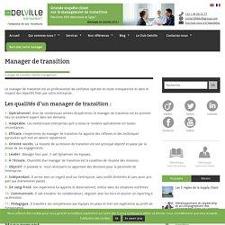Manager de transition , cadres et directeurs de transition