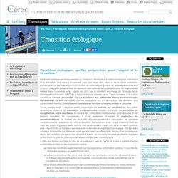 Transition écologique / COP 21