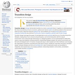 Transition design