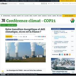 Entre transition énergétique et défi climatique, où en est la France?