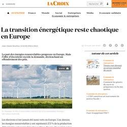 La transition énergétique reste chaotique en Europe - La Croix