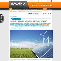 Comment la transition énergétique va booster l'économie