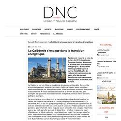La Calédonie s'engage dans la transition énergétique