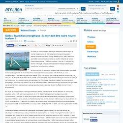 Transition énergétique : la mer doit être notre nouvel horizon