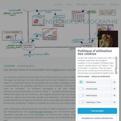 Les terres rares et la transition écologique en une infographie - Site de enseigner-la-geographie !