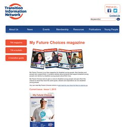 My Future Choices magazine