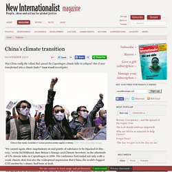 China's climate transition