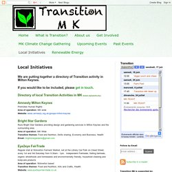 Transition MK: Local Initiatives