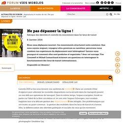 Forum Vies Mobiles - Préparer la transition mobilitaire