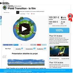 Food Transition - le film présenté par Stéphanie et Cyrille